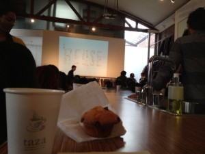 Creative Mornings feeds your brain and your belly!